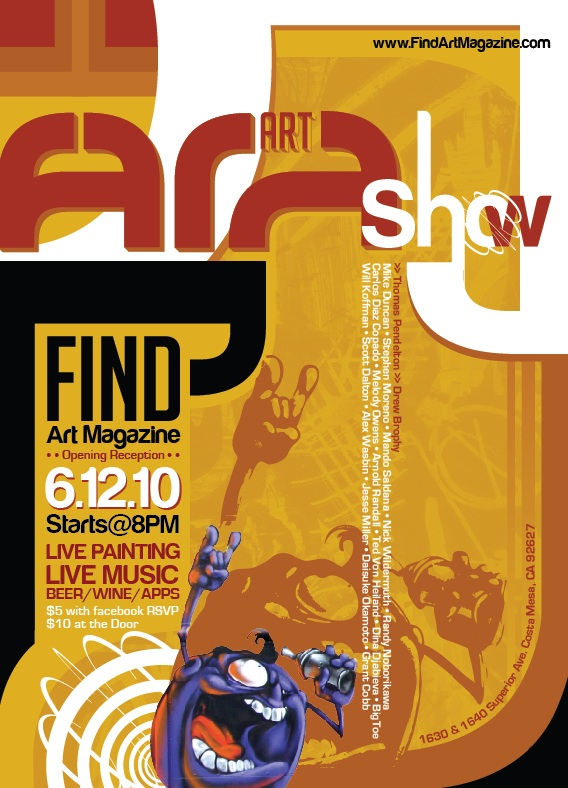 June 12th - Find Art Show featuring Melody Owens