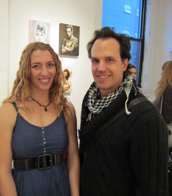 Broadway Gallery New York City Show Featured Melody Owens Artworks