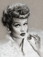 Lucille Ball - I Love Lucy Portrait