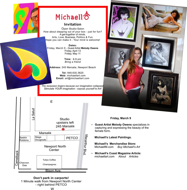 Melody Owens Art featured artist at Studio 245