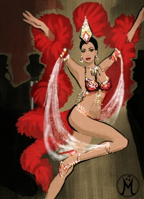 Red Dancer Poster