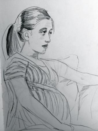 figure drawing, portrait sketch, figure drawing