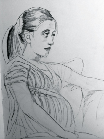 figure drawing, portrait sketch, figure drawing