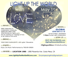 Light Up The World With Love – Global Love Day Event