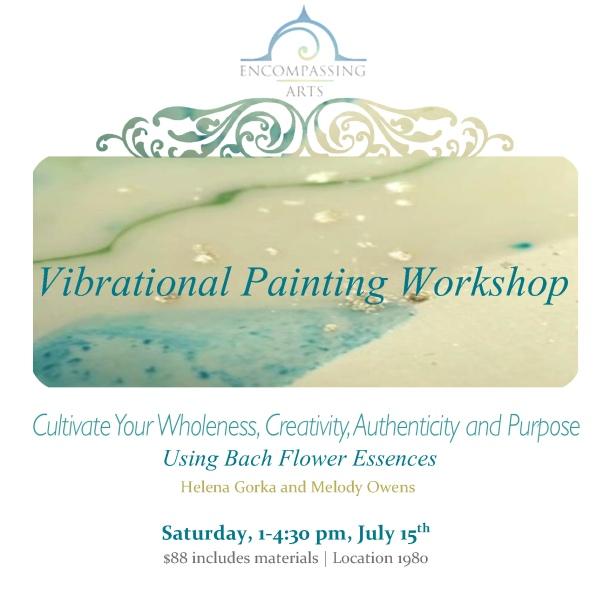 Vibrational Painting Workshop-june15