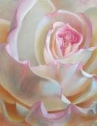 """Peace Rose"" 11x14 Original SOLD"
